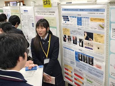茨城県高校生科学研究発表会の様子