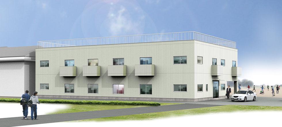 茨城町第二研修所 完成予定図
