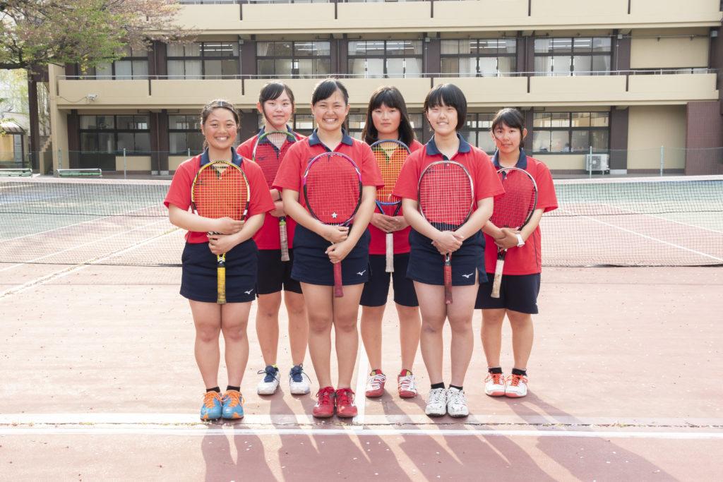 テニス部(男・女)画像2
