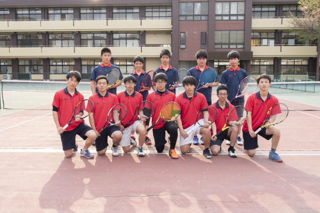 テニス部(男・女)画像